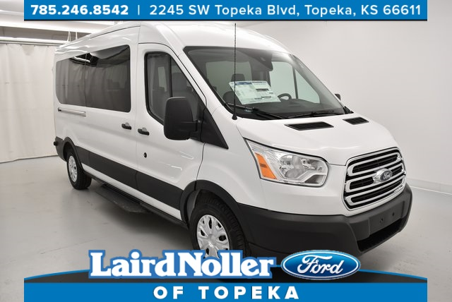 New 2019 Ford Transit 350 Xlt Passenger Van In Topeka Yb3535