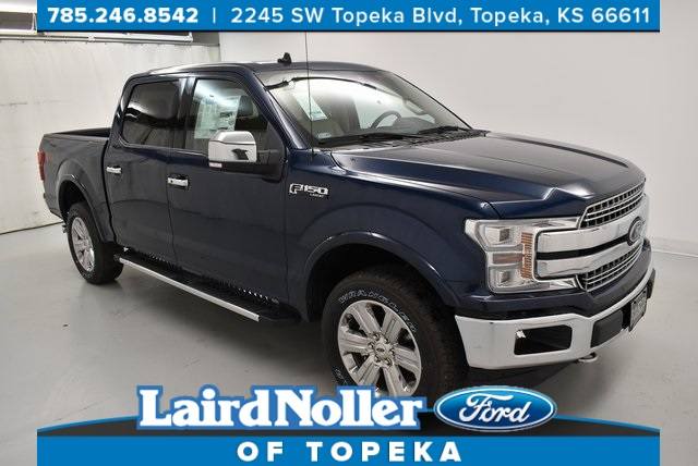 New 2020 Ford F 150 Lariat 4d Supercrew In Topeka Zk5660 Laird
