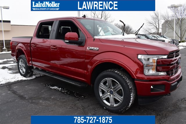 New 2019 Ford F 150 Lariat 4D SuperCrew in Topeka 19T1279