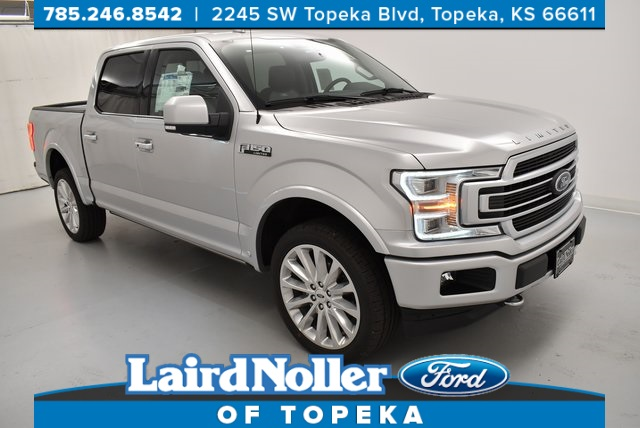New 2019 Ford F 150 Limited 4d Supercrew In Topeka Yk5138 Laird