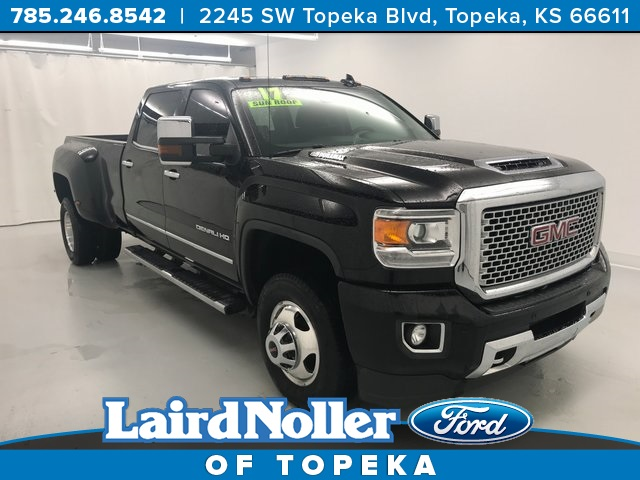 Pre Owned 2017 Gmc Sierra 3500hd Denali 4d Crew Cab In Topeka