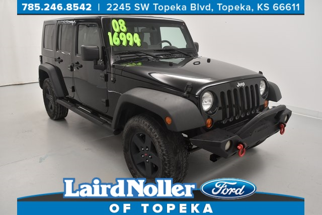 Exceptional Pre Owned 2008 Jeep Wrangler Unlimited X