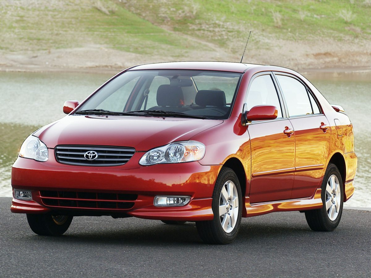 Pre-Owned 2004 Toyota Corolla S