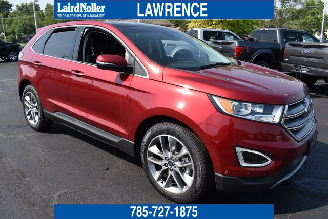 New 2018 Ford Edge Titanium