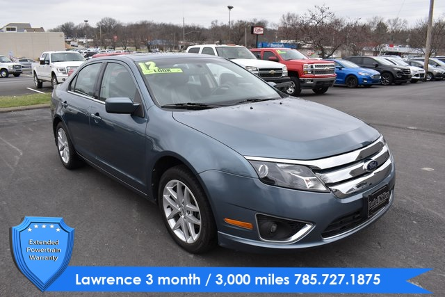 Pre Owned 2012 Ford Fusion Sel 4d Sedan In Topeka Pl4402 Laird