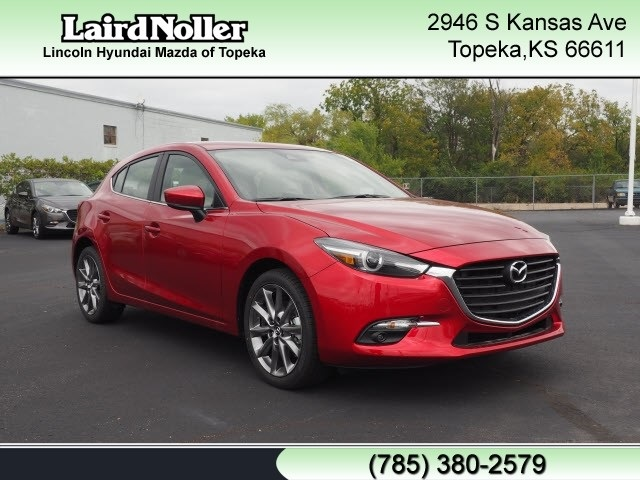 Laird Noller Lawrence >> New 2018 Mazda Mazda3 Grand Touring Base 4D Hatchback in Topeka #VC2641 | Laird Noller Auto Group