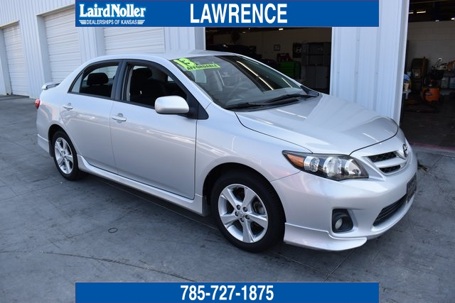 Toyota Dealerships In Mississippi >> Pre-Owned 2013 Toyota Corolla S 4D Sedan in Topeka #1A4485 | Laird Noller Auto Group