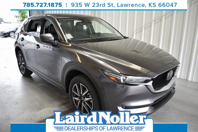 New 2018 Mazda CX-5 Grand Touring 4D Sport Utility in Topeka #18B446