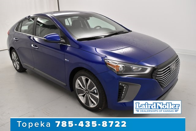New 2019 Hyundai Ioniq Hybrid Limited 4d Hatchback In Topeka Yj3116